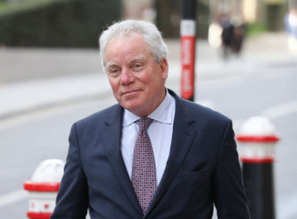 Gordon Ramsay's father-in-law, Chris Hutcheson, 68, arrives at the Old Bailey