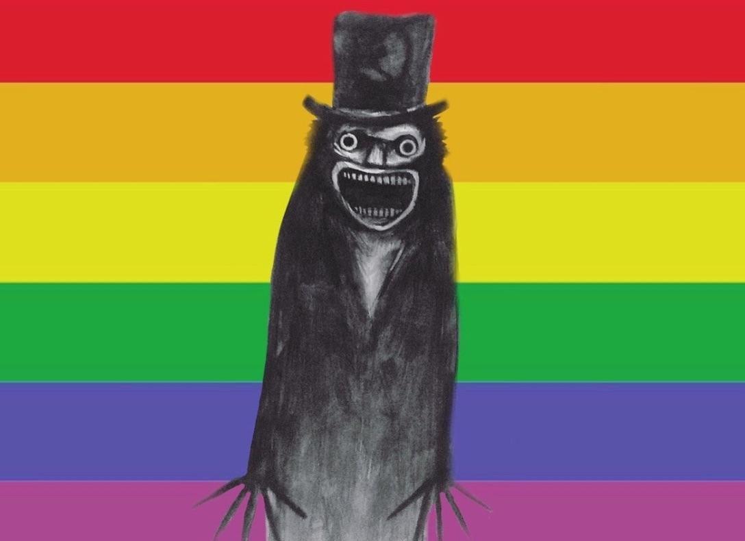 the babadook gay