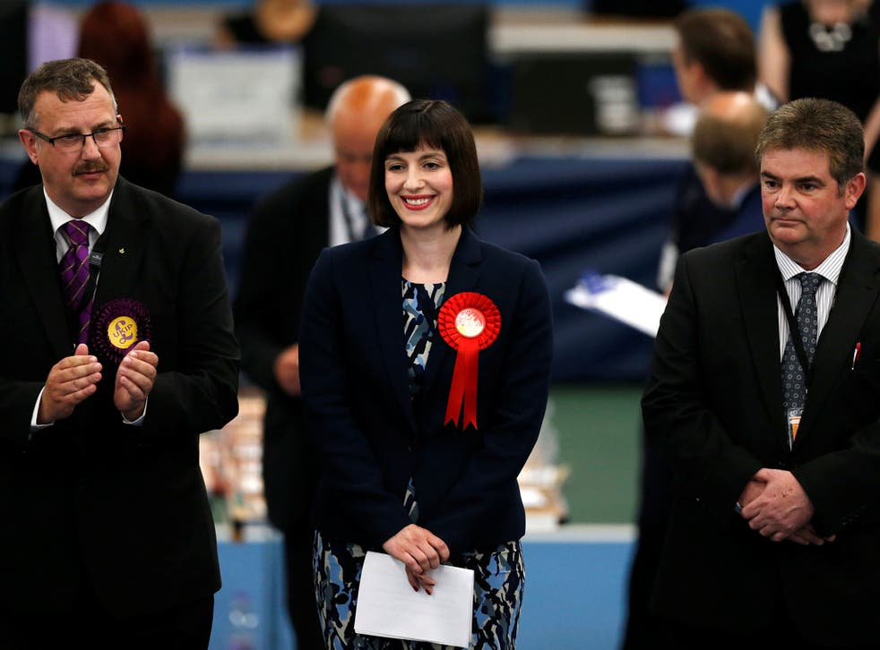 The Houghton and Sunderland South Labour candidate is re-elected, one of the first seats to be announced