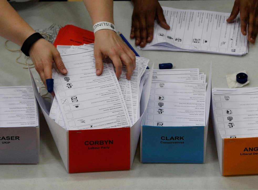 There is no 'hung parliament' option on the ballot paper