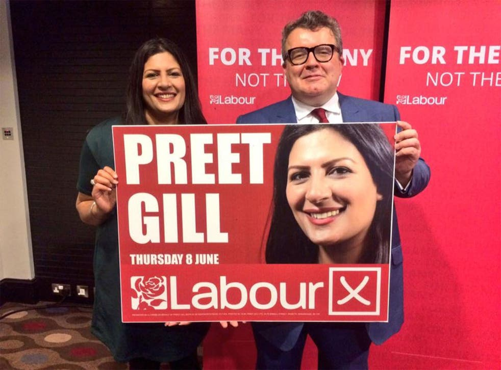 Preet Gill has become the first ever female Sikh MP