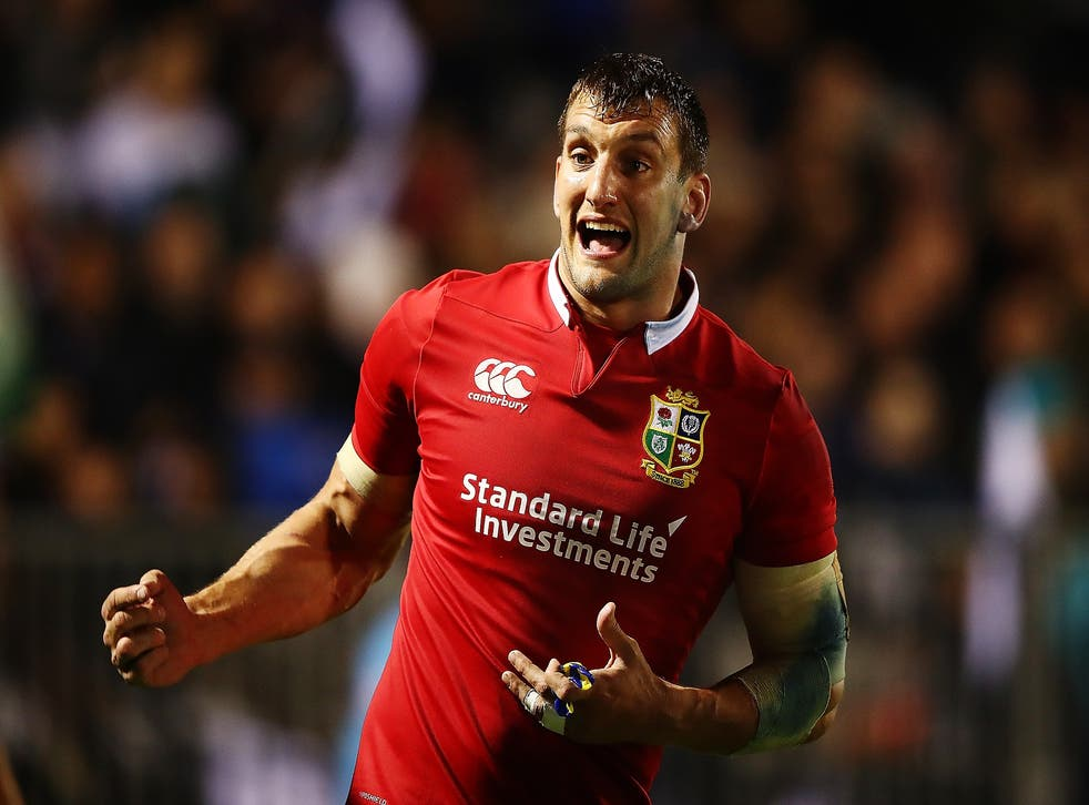 Sam Warburton will miss the Crusaders match with a sore ankle but should play again before the Test series