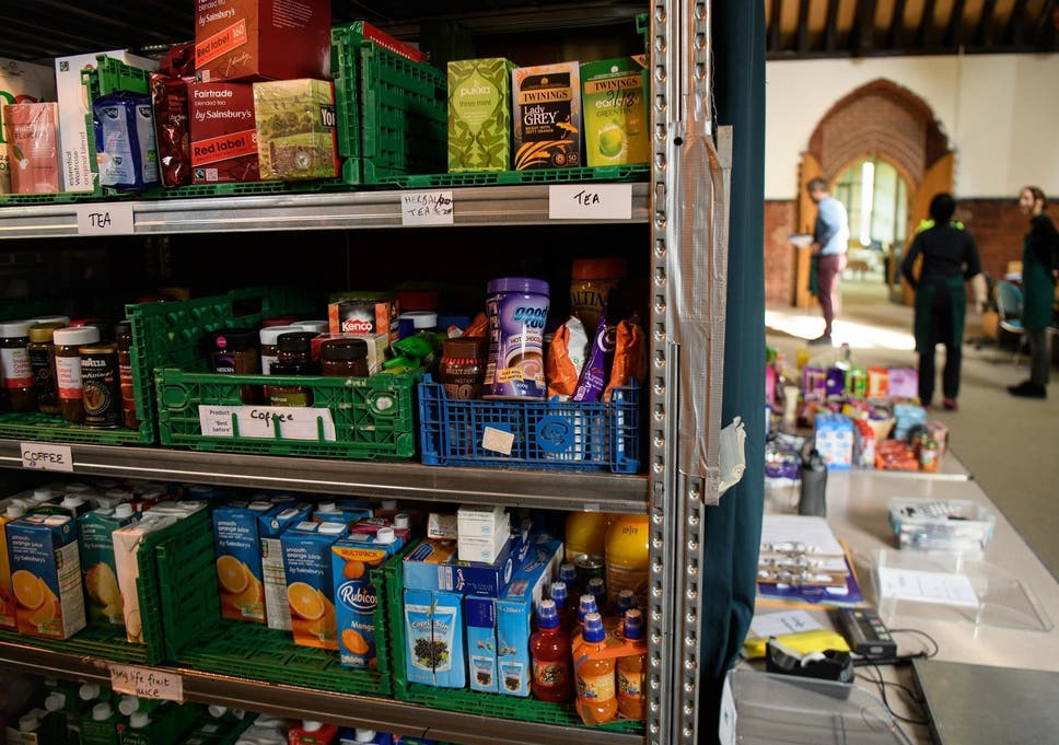 Food Banks Run Out As Hungry Children On Summer Holidays