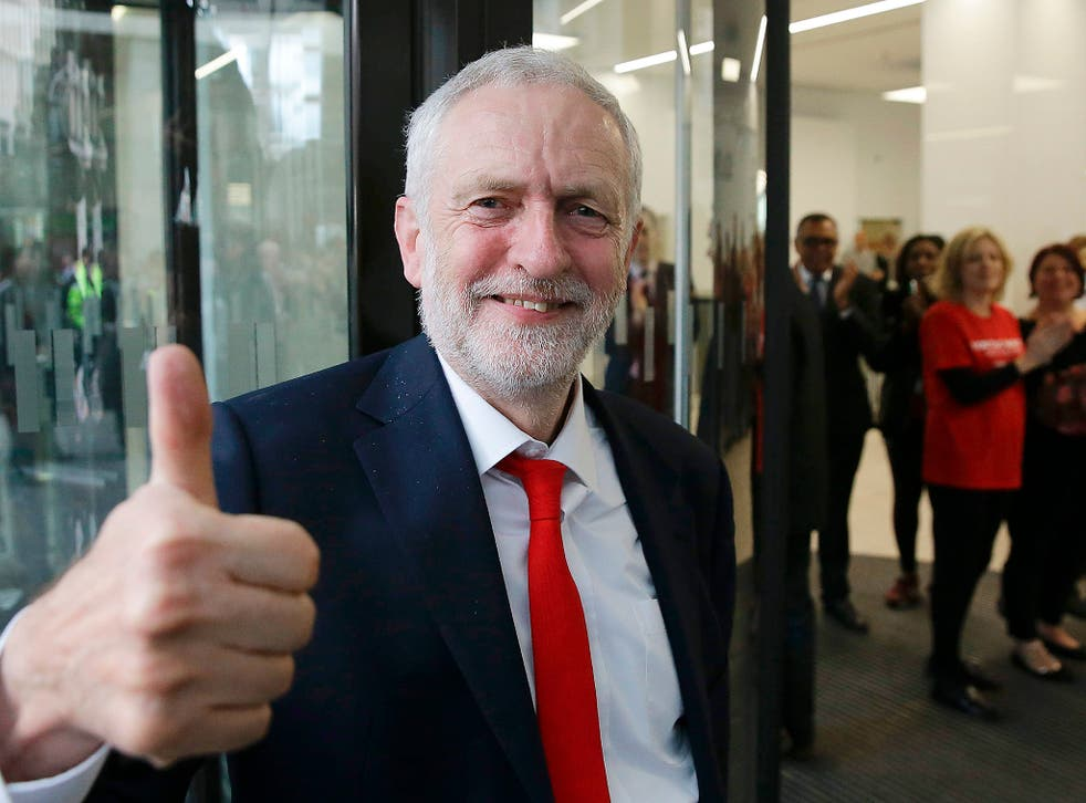 Jeremy Corbyn is said to have benefited from the youth vote at this election