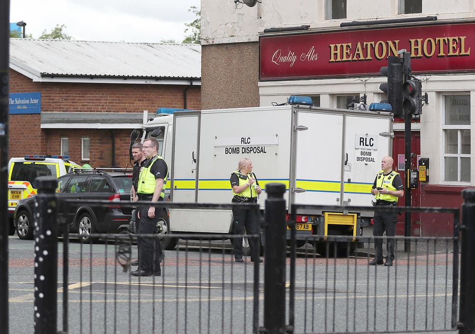 Newcastle hostage incident: Police bomb disposal unit