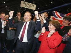 DUP says it will form government with Theresa May