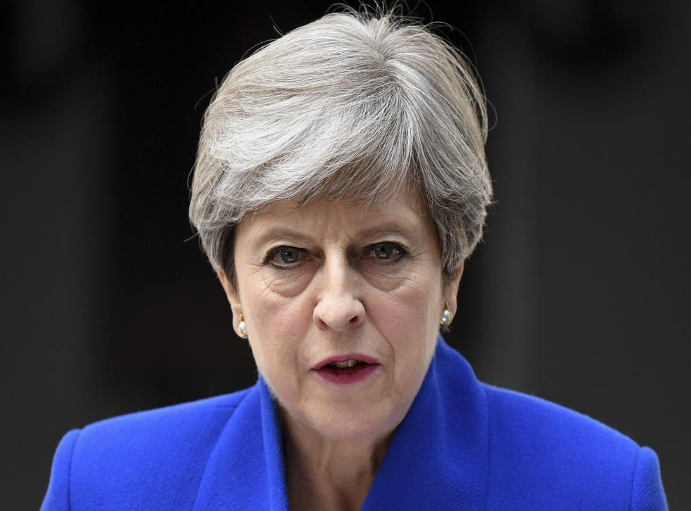 The working majority of 17 that she inherited has now vanished