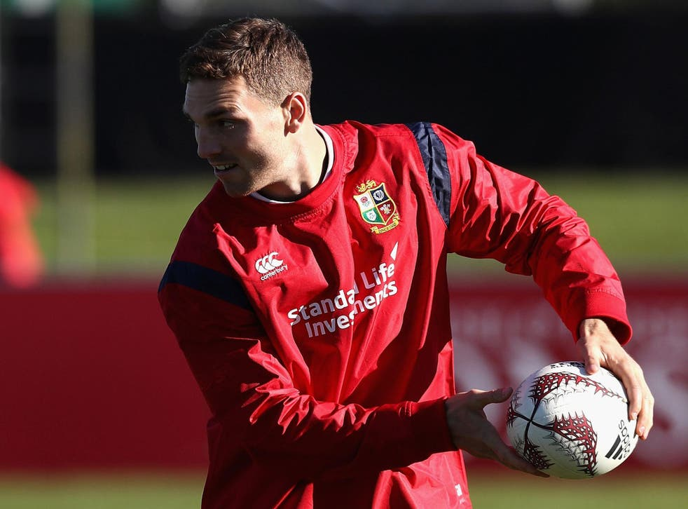 George North will get his first crack of the tour against the Crusaders