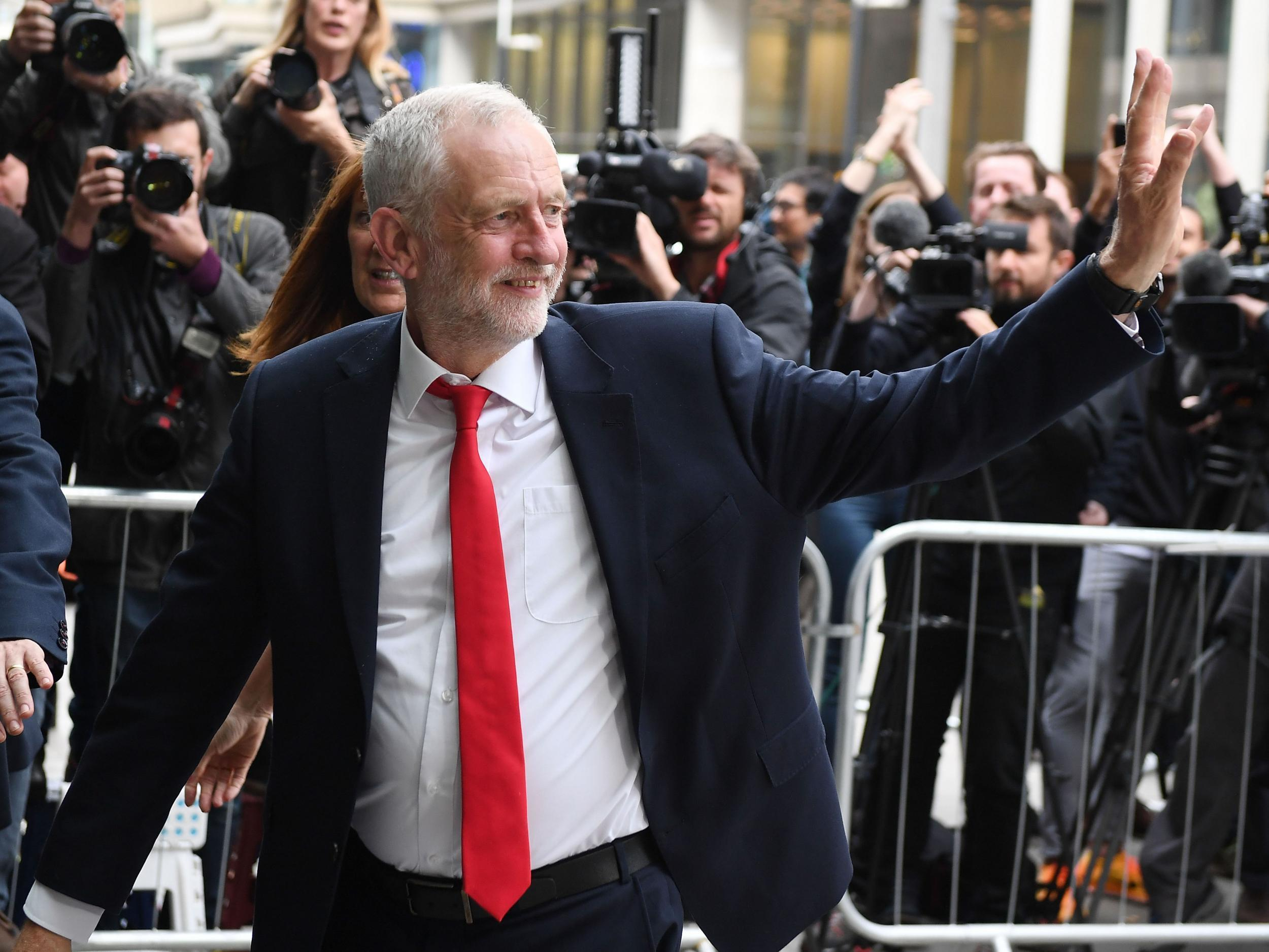 Corbyn strengthens his grip on his party as critics change their tune
