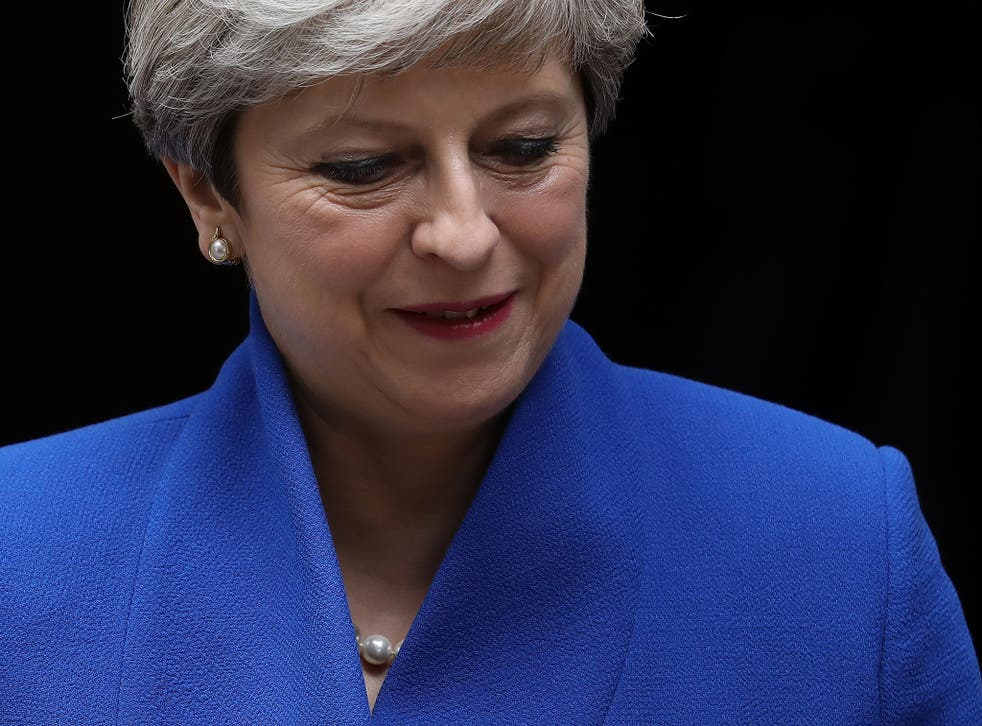 Theresa May is set to face her backbenchers tomorrow