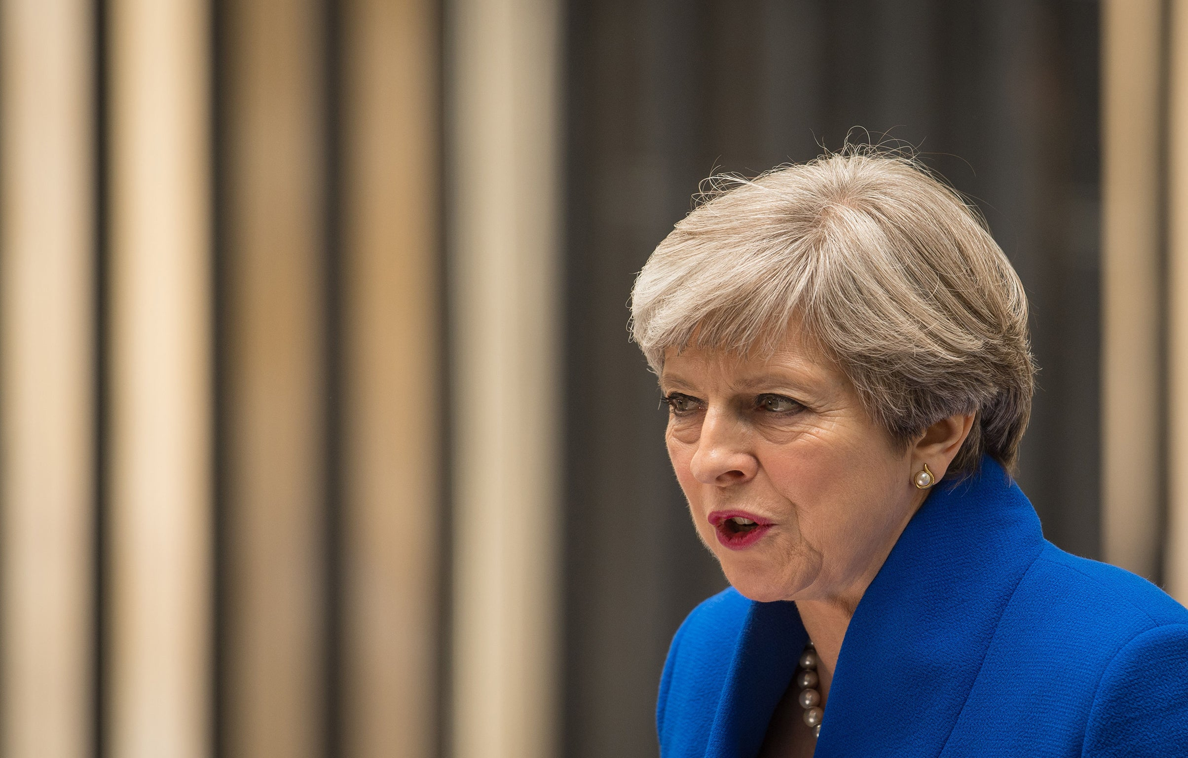 City analysts predict Theresa May will only last a few more months as PM
