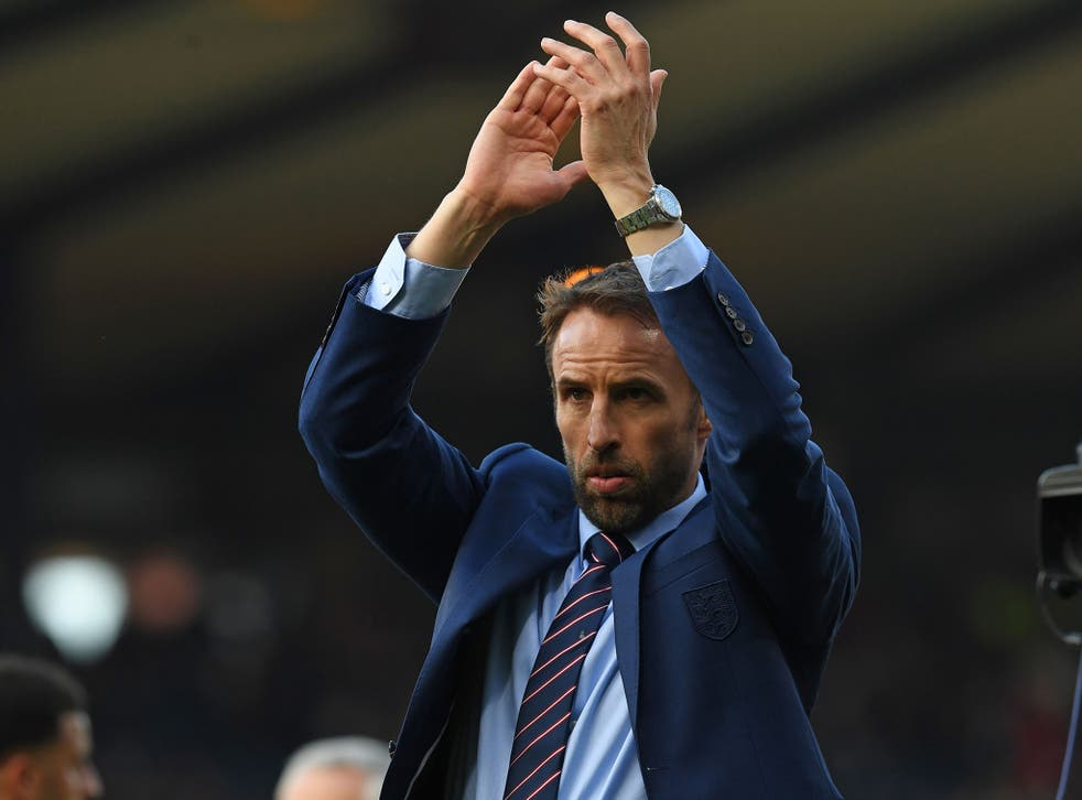 Gareth Southgate defended his first-choice 'keeper despite criticism over his positioning