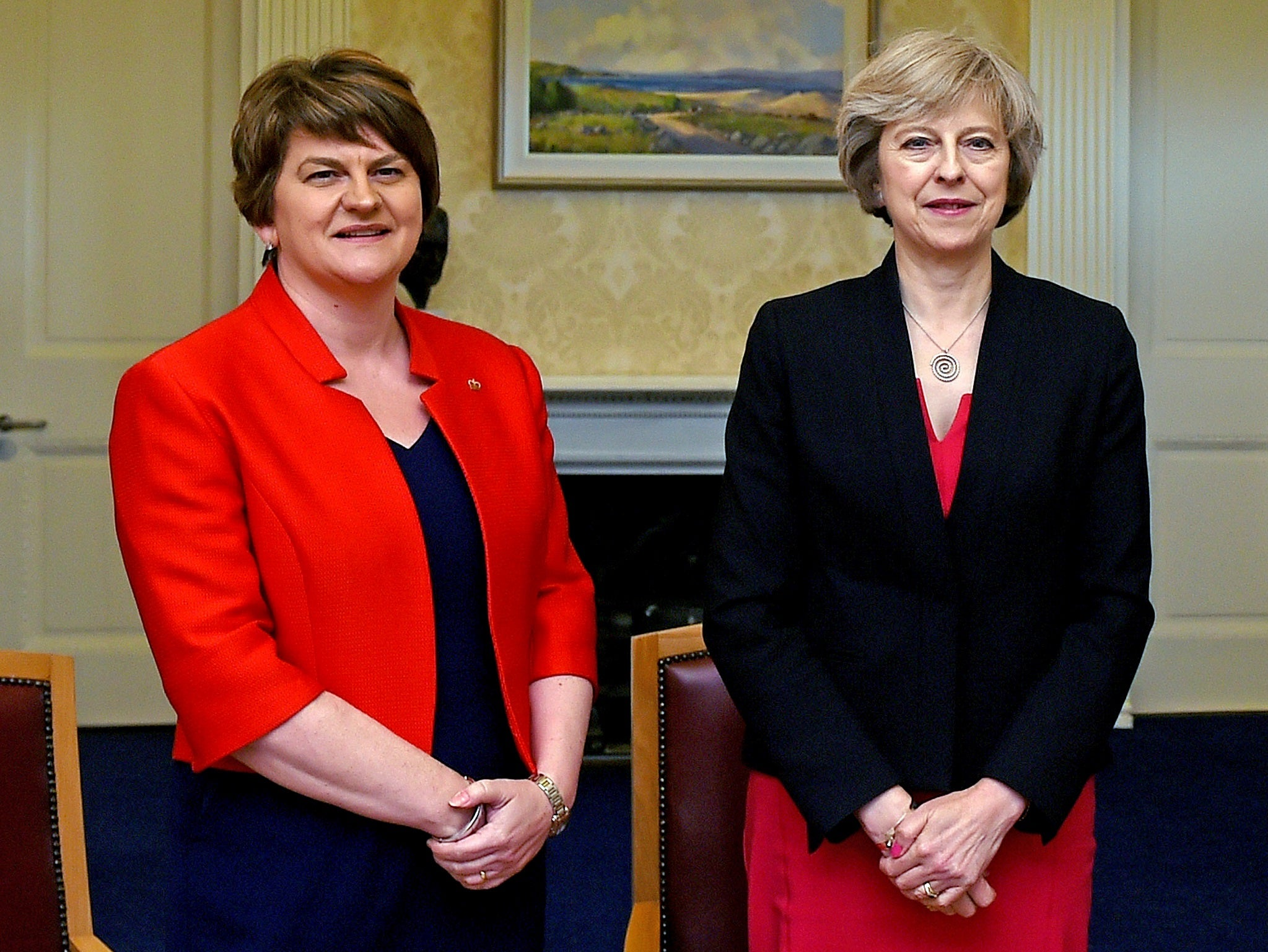 Theresa May pledges to publish the details of any Tory-DUP deal amid concerns over the cost