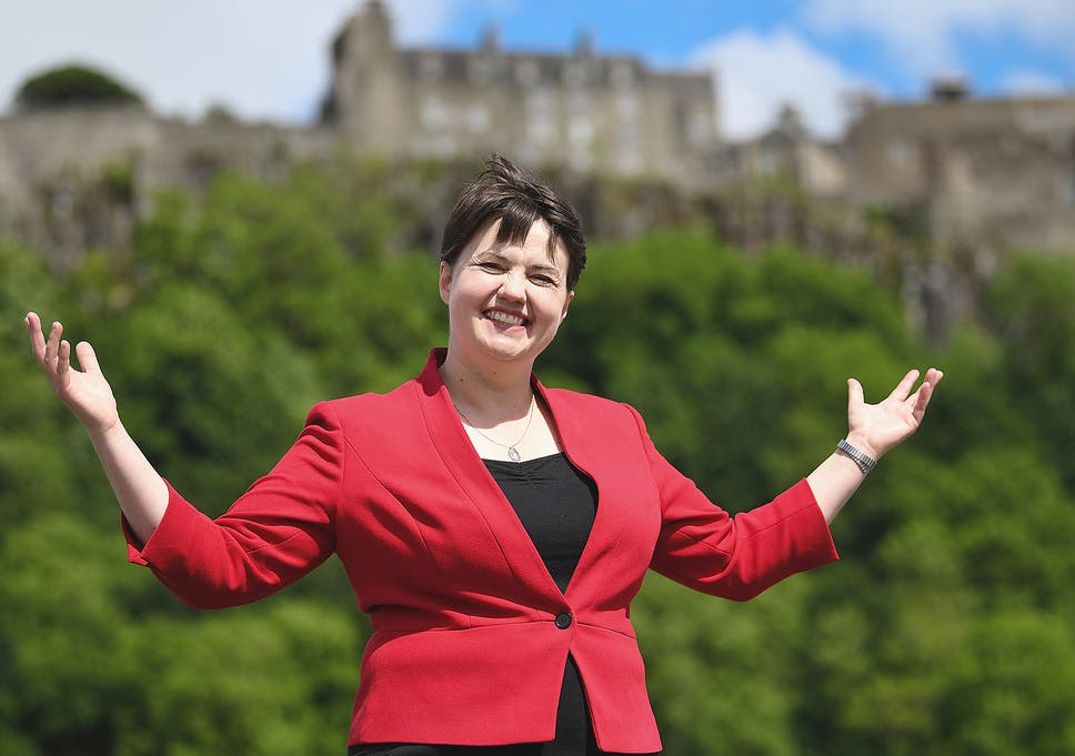 for scottish conservatives the prospect of a second referendum on  ruth davidson has put the scottish conservatives back on the political map