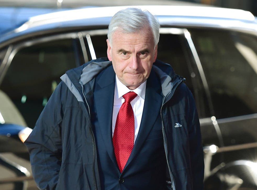 The Shadow Chancellor said there was not a majority in parliament for austerity