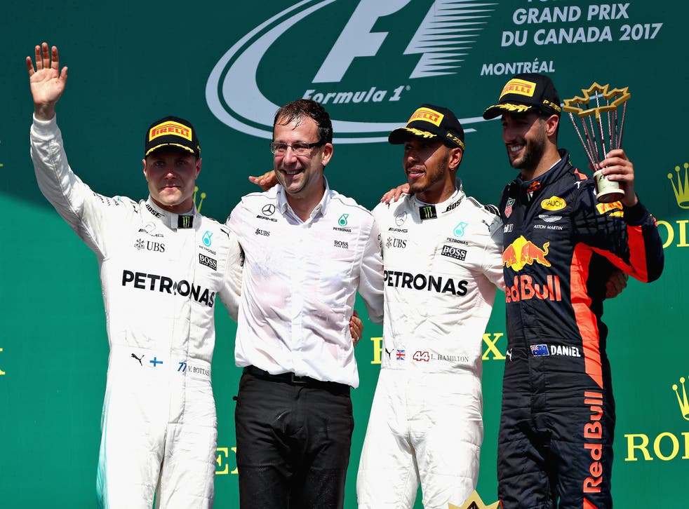 It was a good day for Hamilton who drove superbly