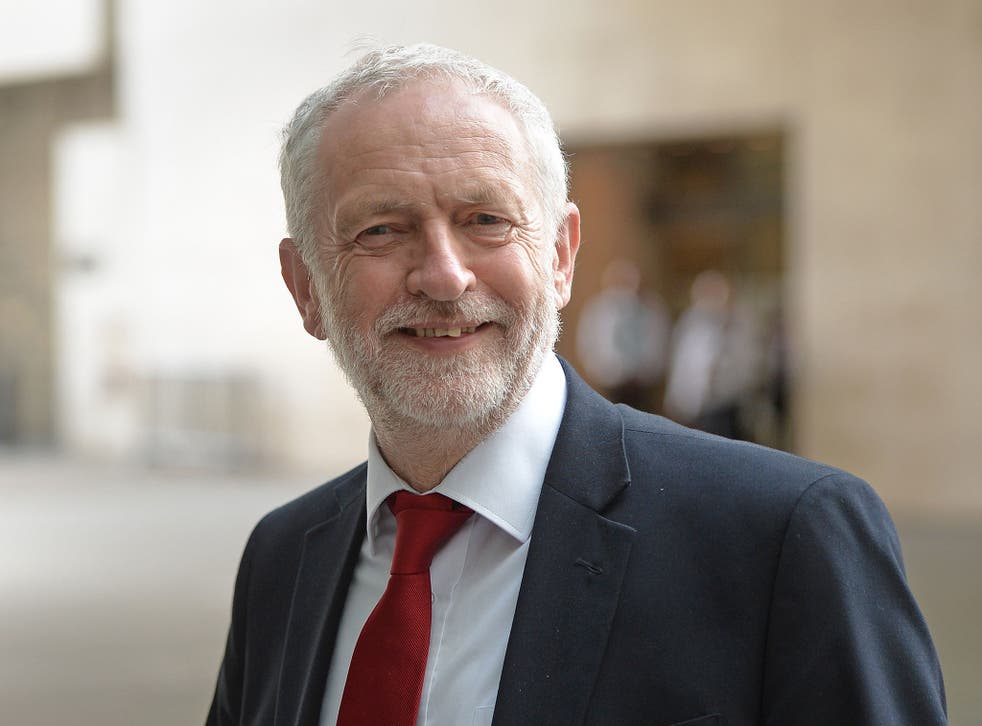 Labour leader Jeremy Corbyn arrives at BBC Broadcasting House in London to appear on The Andrew Marr Show