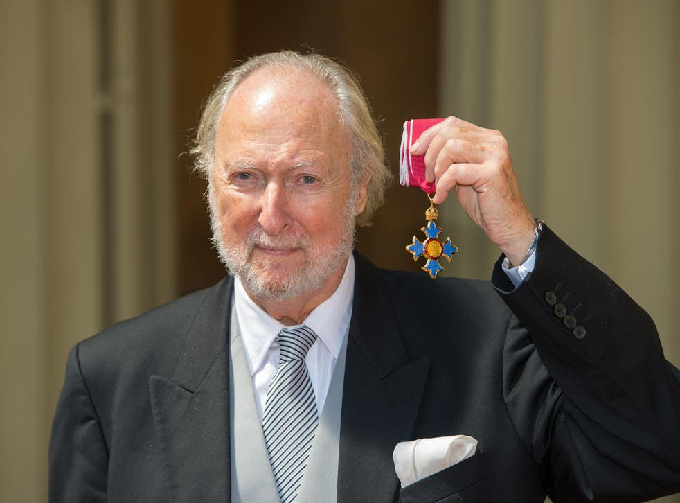 Victor was awarded a CBE for services to literature