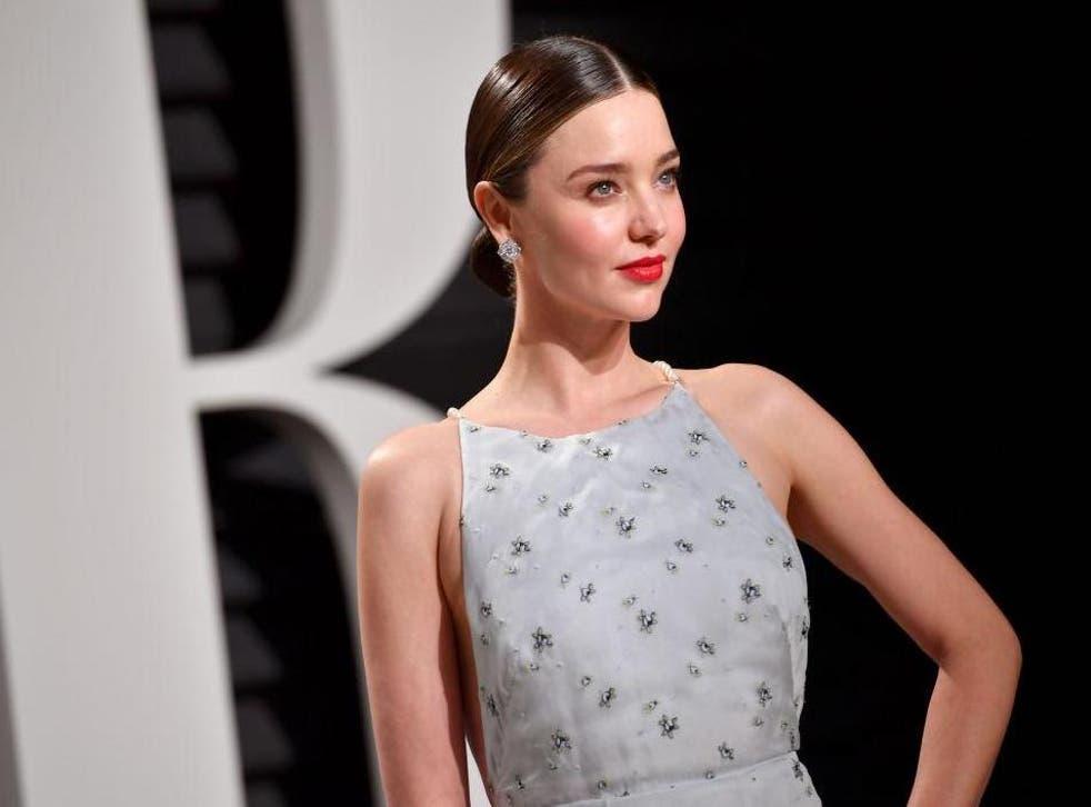 Model Miranda Kerr revealed that she loves getting leech facials