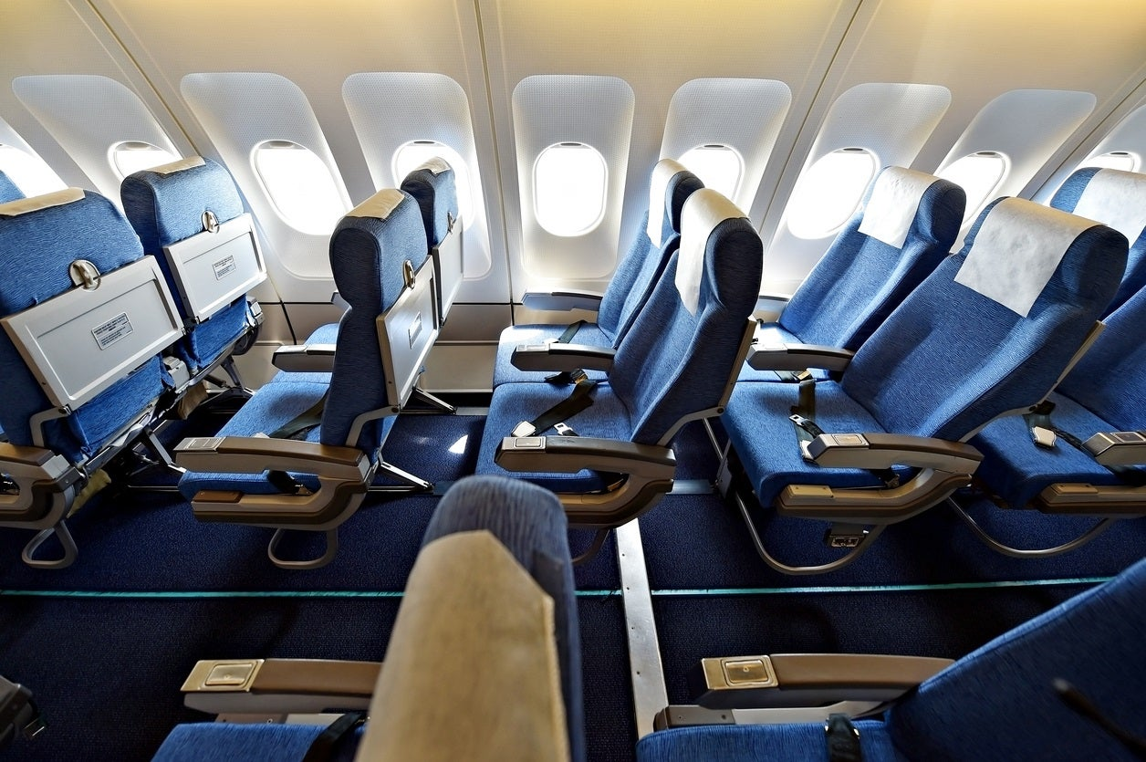 How to get more space on a plane with this 'secret' button