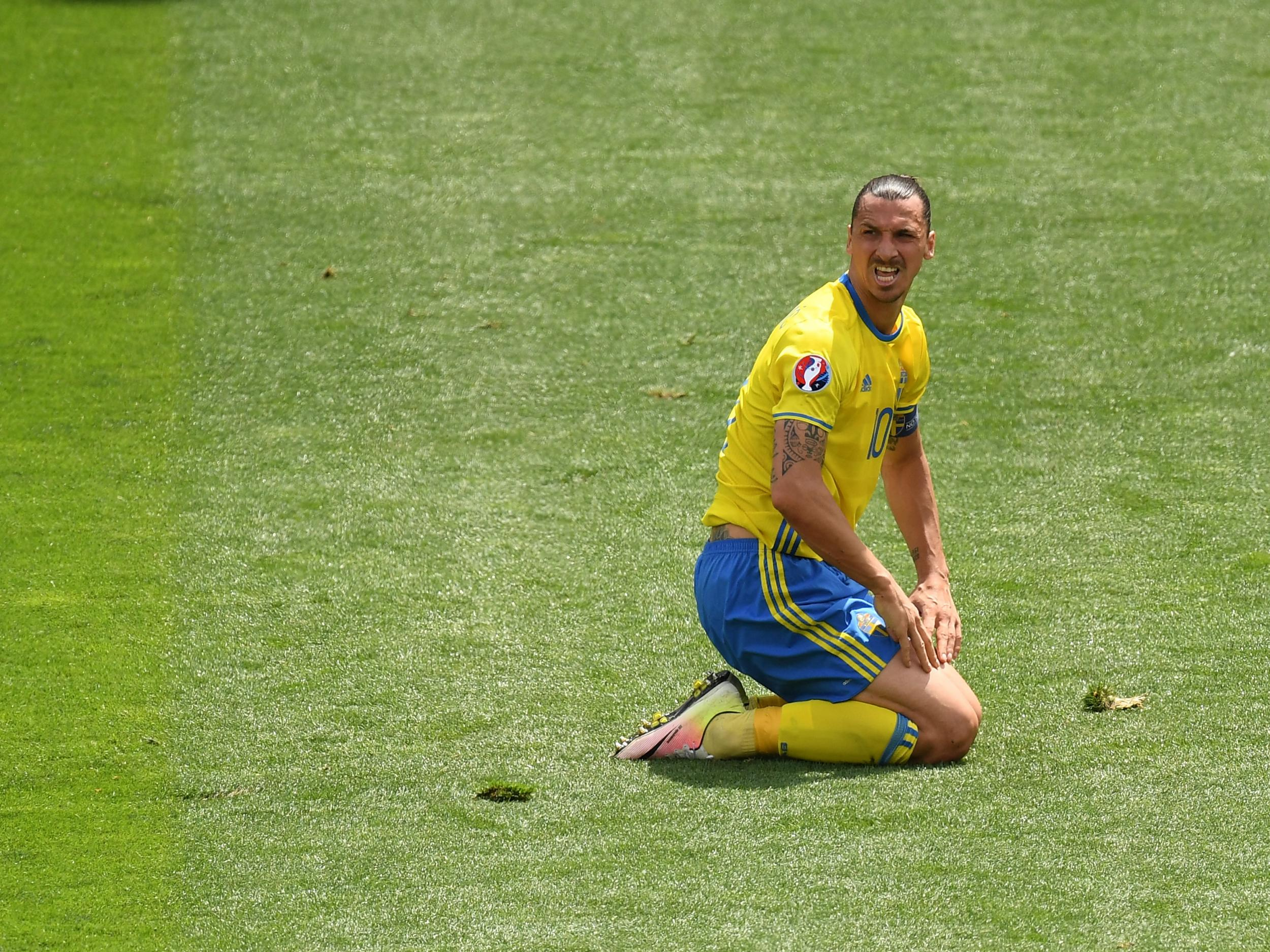 Zlatan Ibrahimovic's misery continues as Swedish fans turn their back on all-time record goalscorer