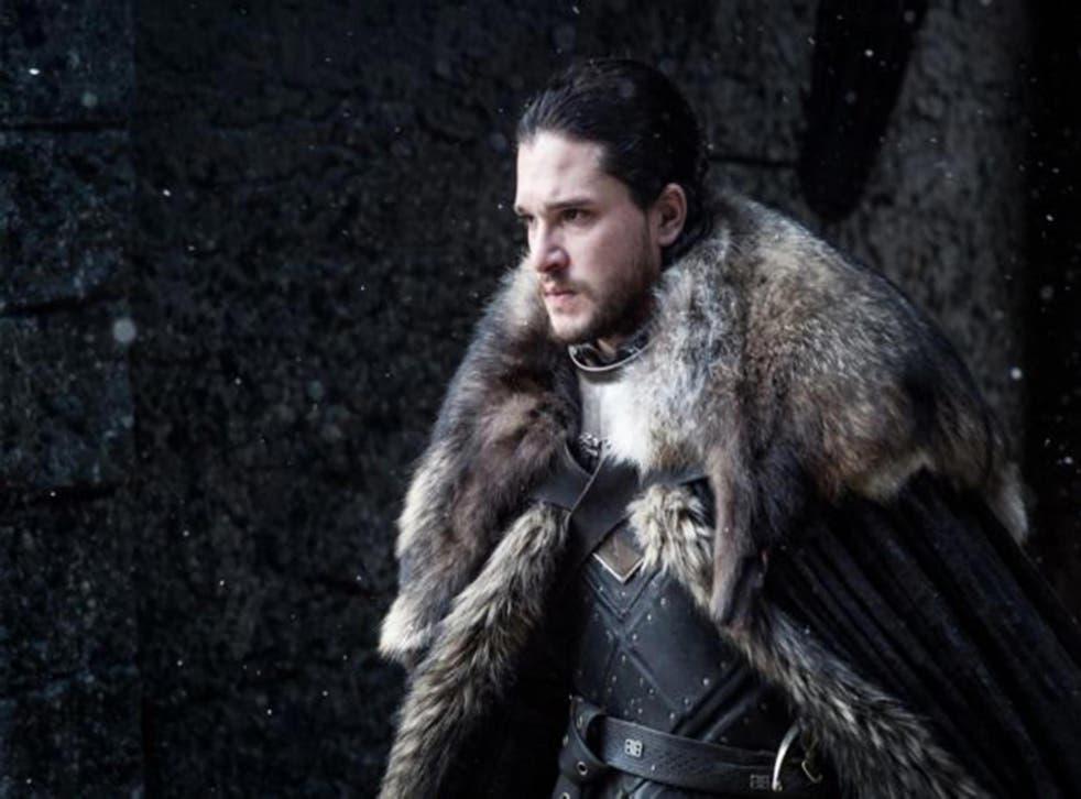 Kit Harrington as Jon Snow in Game of Thrones S7