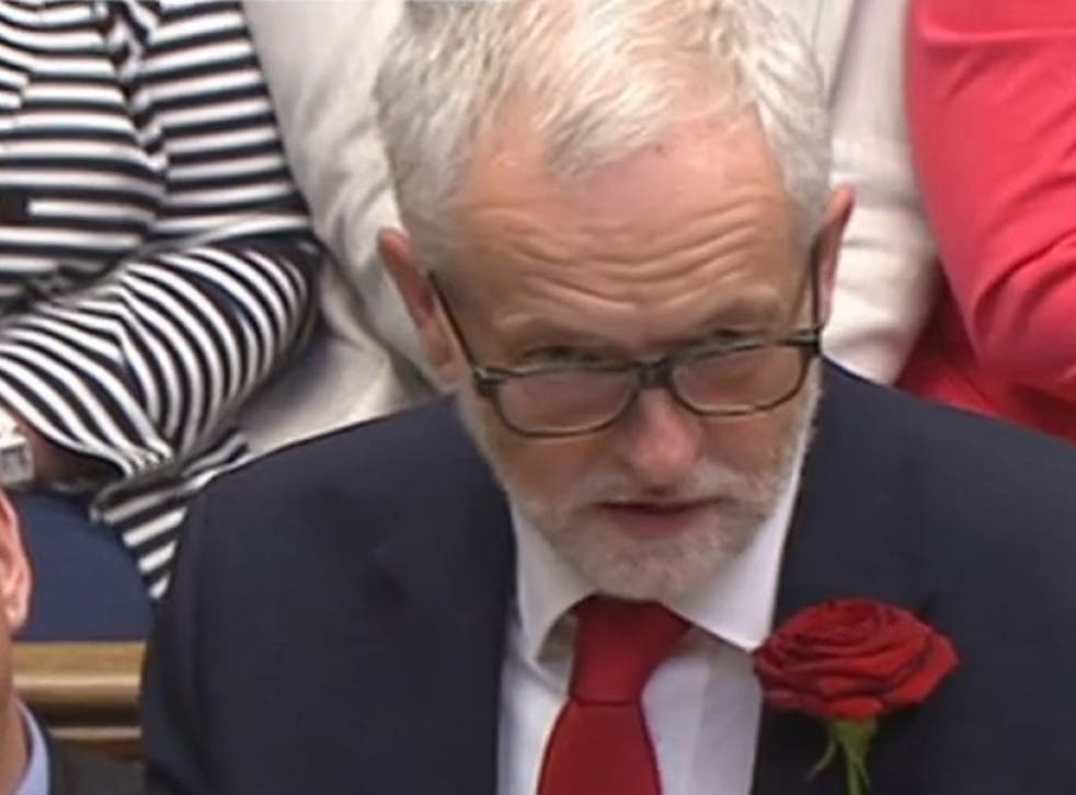 Jeremy Corbyn is facing his first internal party challenge since returning after the election