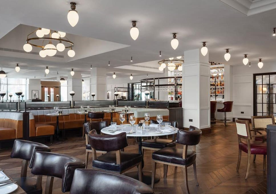 The Dining Room Is Done Up In That Kind Of Luxe Neo Brasserie Vernacular