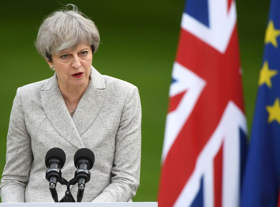 Theresa May faces a big decision on how to gain enough support from hard and soft Brexit backers for her Queen's Speech to pass