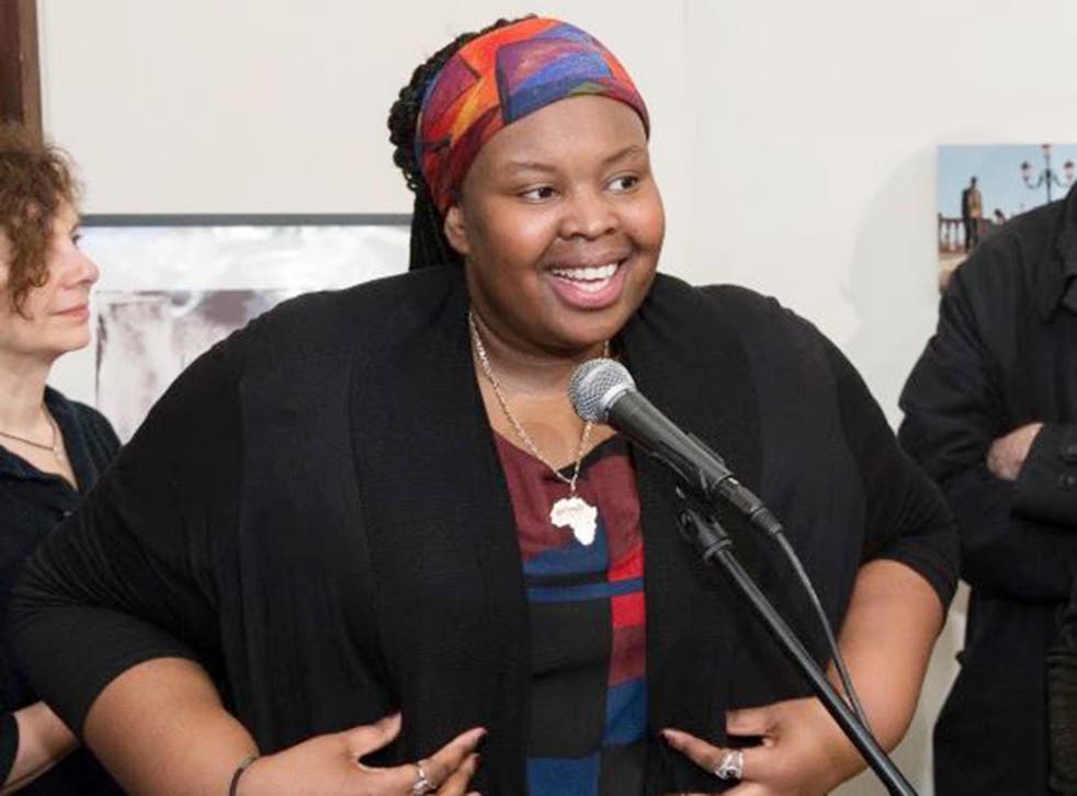 24-year-old Khadijah Saye was a mentee of the Tottenham MP's wife