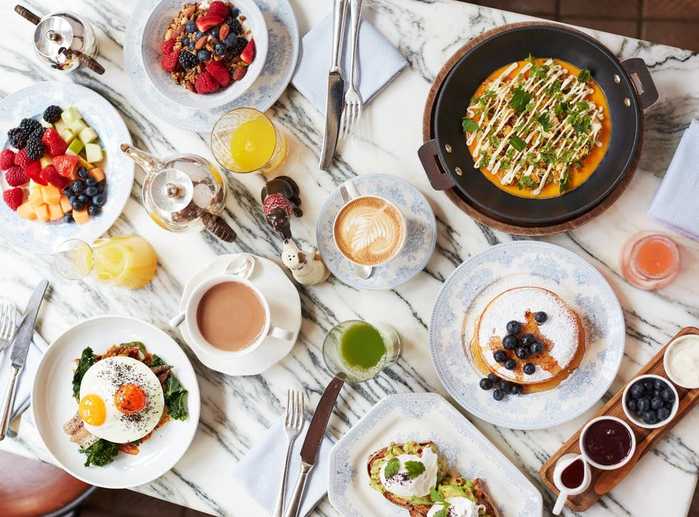 Brunch leads the way at Chiltern Firehouse