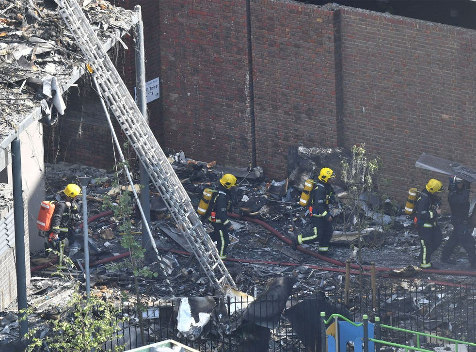 More than 200 firefighters were sent to tackle the blaze
