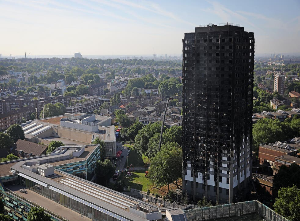 Housing minister Alok Sharma insisted 'every single family from Grenfell House will be rehoused in the local area'