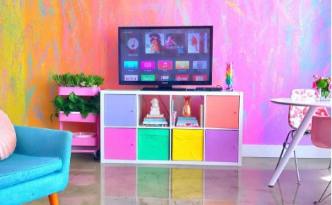This Womanu0027s Rainbow House Has Become An Instagram Sensation