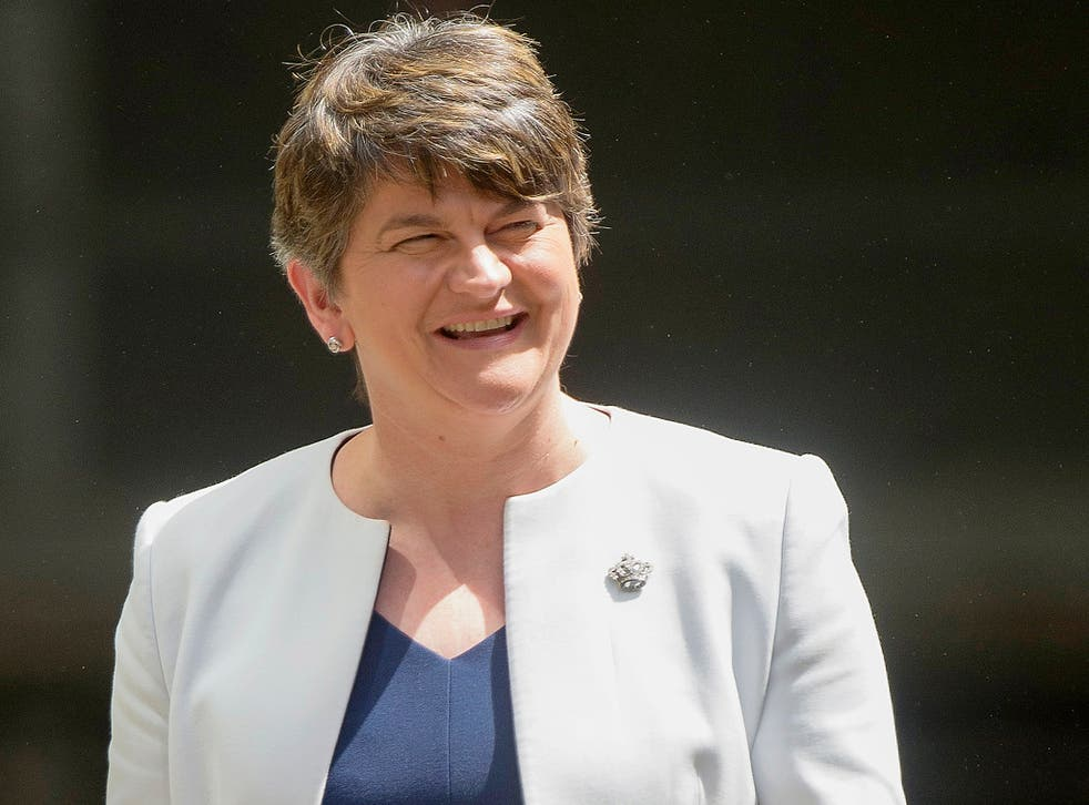Arlene Foster: The DUP could yet vote against the final Brexit deal