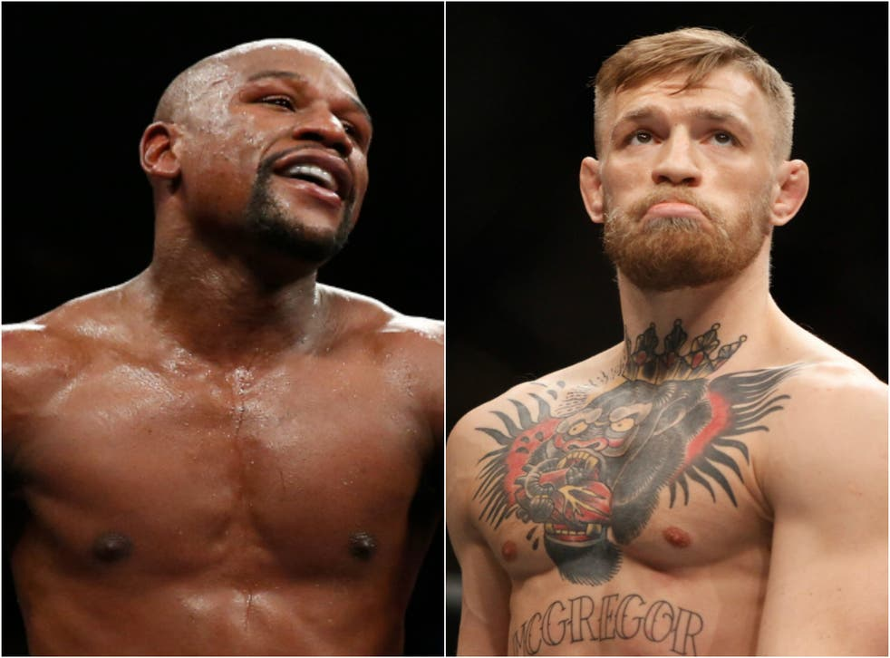 Mayweather is the overwhelming favourite to win the boxing match
