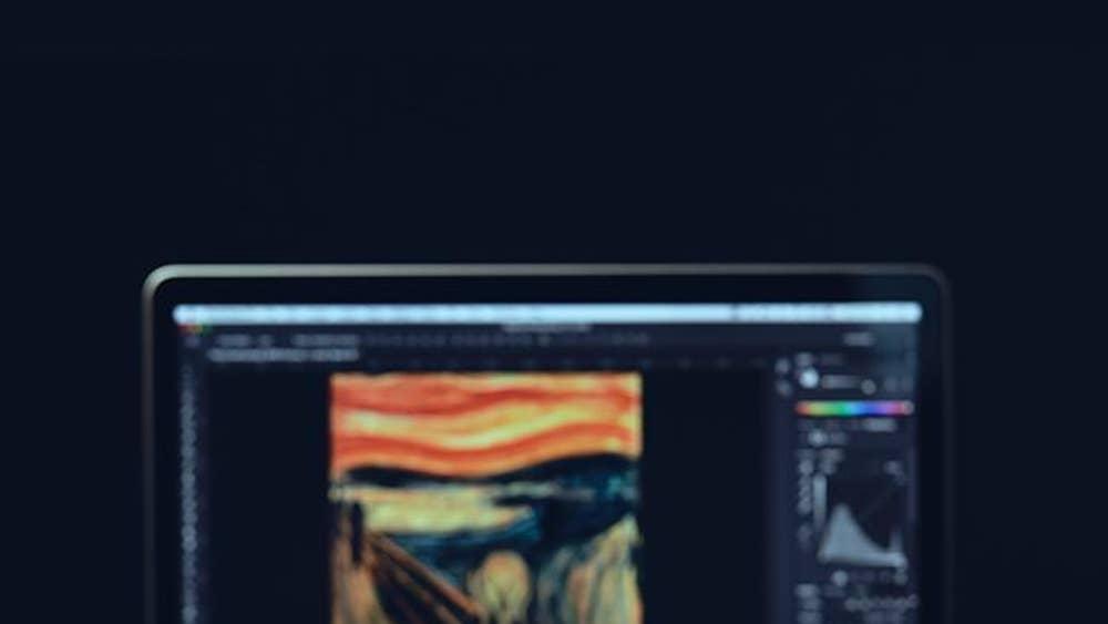 Edvard Munch's 100-year-old brushes digitally recreated so