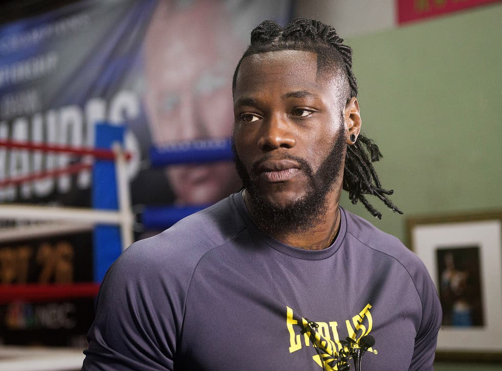 Deontay Wilder is the WBC's reigning world heavyweight champion