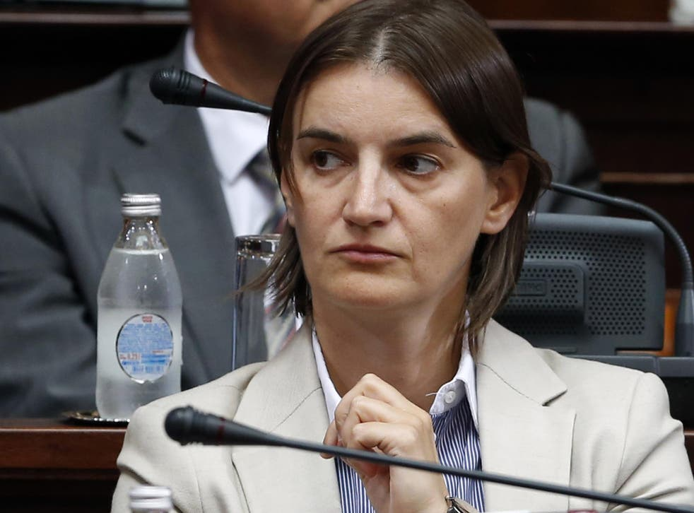 Ana Brnabic looks set to be Serbia's first female and first openly gay Prime Minister