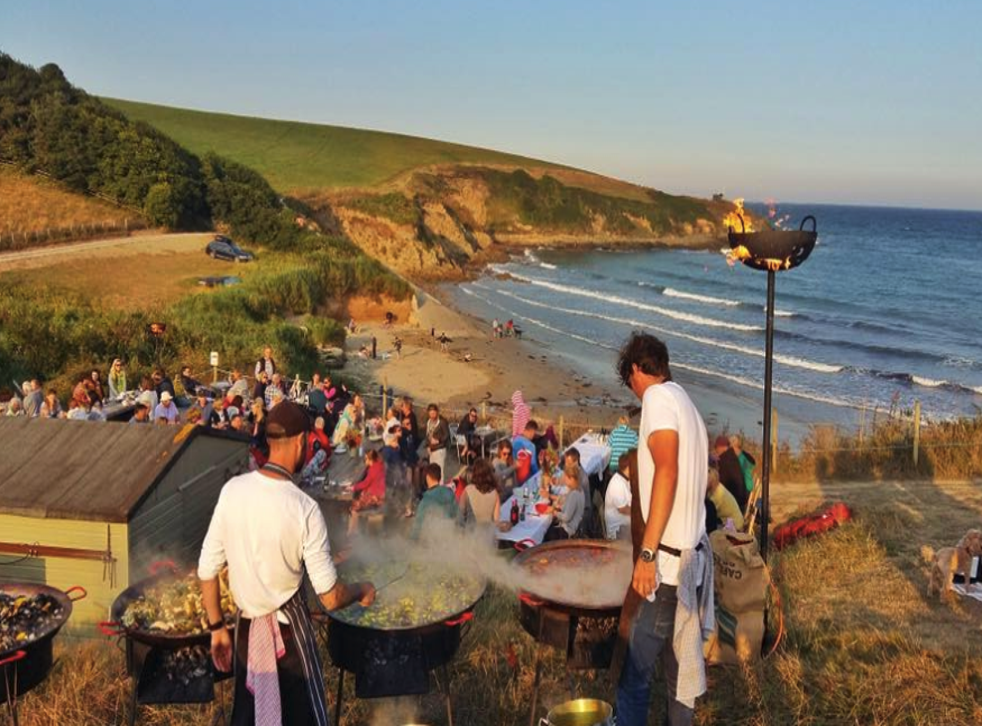The Hidden Hut is one of the treats you'll find along Cornwall's coastal path