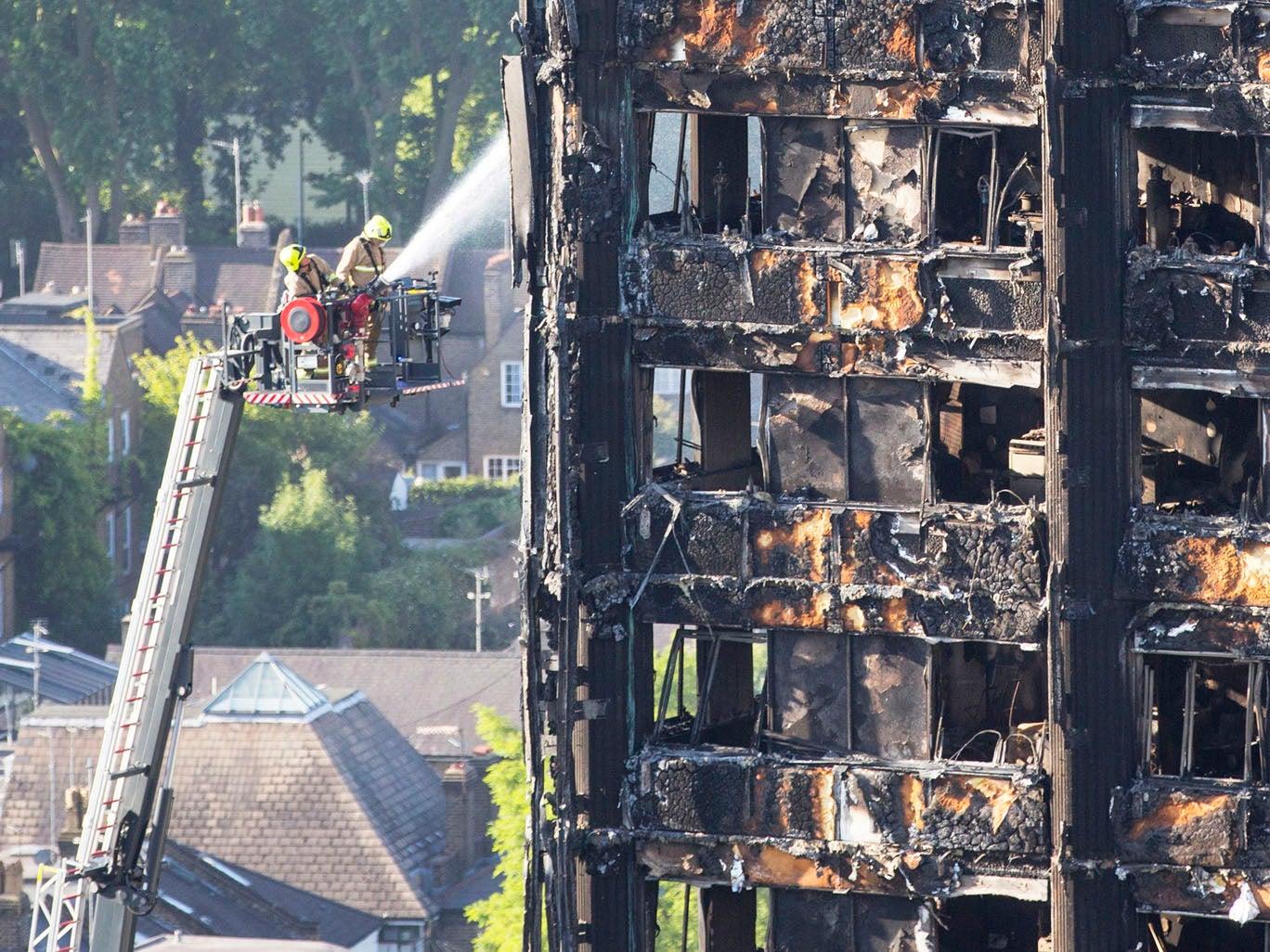30 people confirmed dead in London tower block disaster