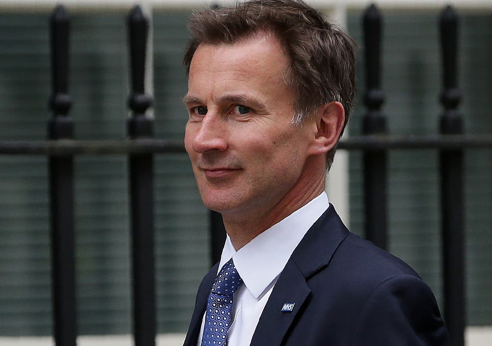 Health Secretary Jeremy Hunt is selling off NHS firm which saves