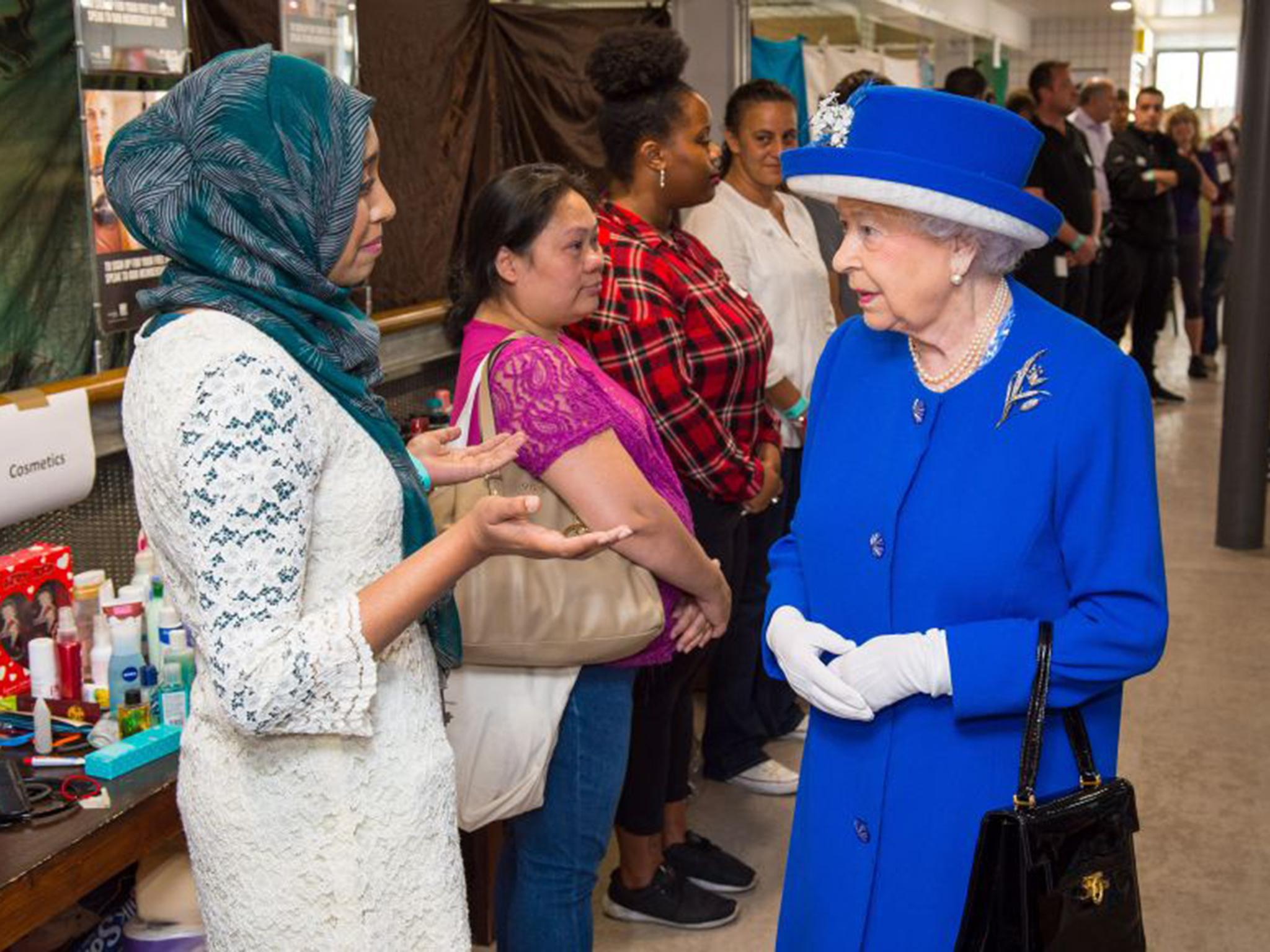 Queen Elizabeth And Prince William Visit Grenfell Tower