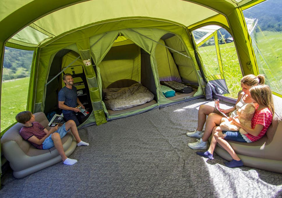 Accommodate parents kids and the rest of the clan in comfort on your next trip & 8 best family tents | The Independent