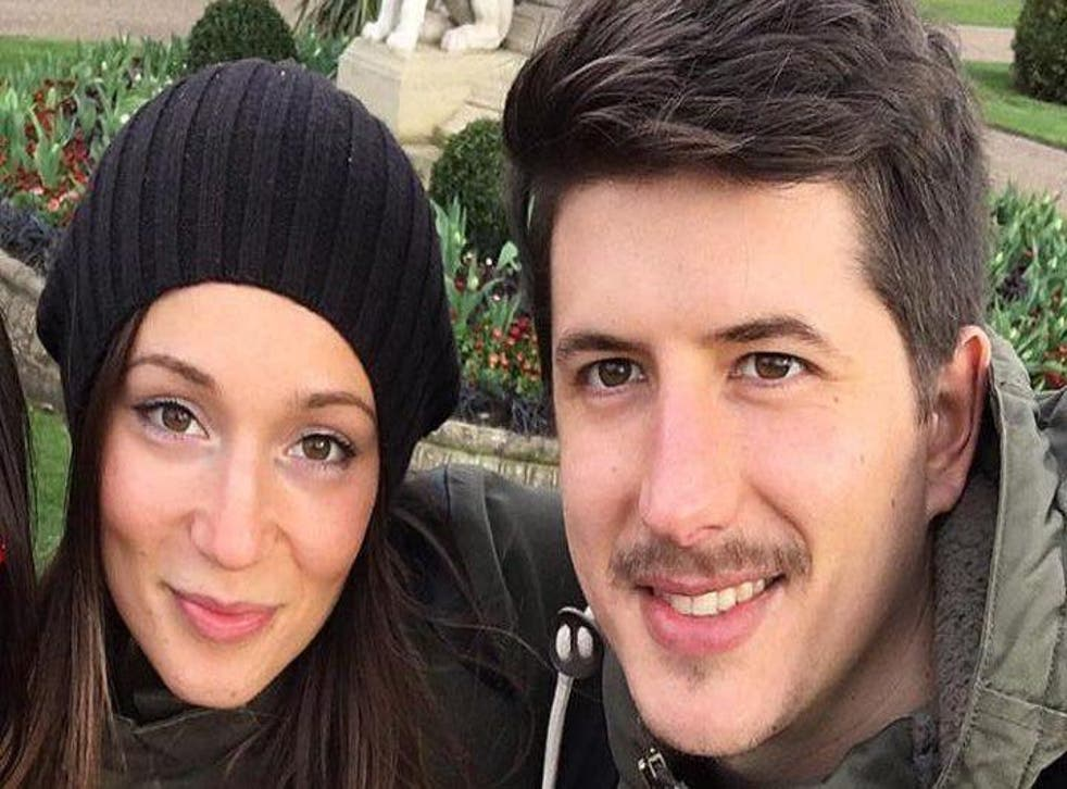 Gloria Trevisan and Marco Gottardi, who were in their 23rd-floor flat when they became aware of the blaze, are feared dead