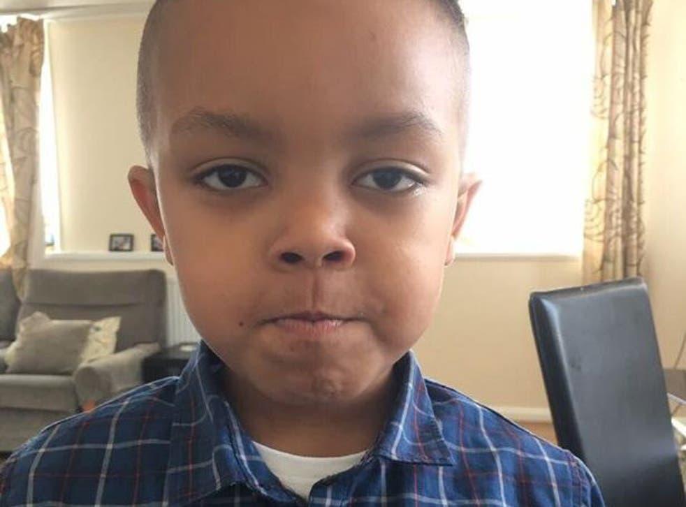 Five-year-old Isaac Shawo