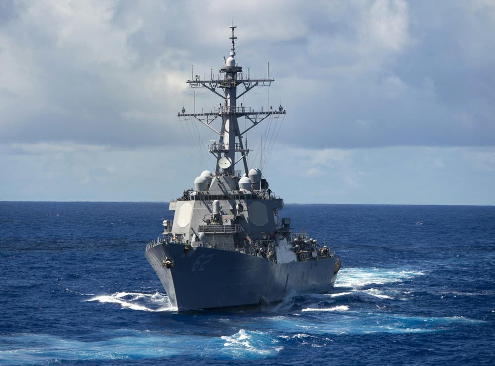 The USS Fitzgerald collided with a merchant ship and is reportedly taking on water
