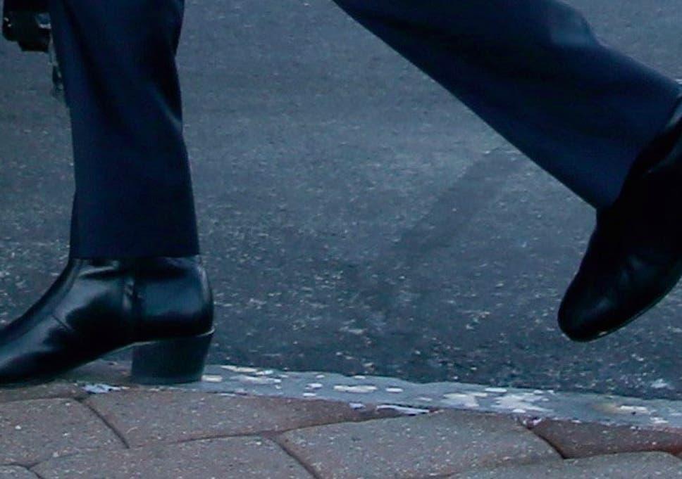 1829dde18 Heels for men declared back in fashion