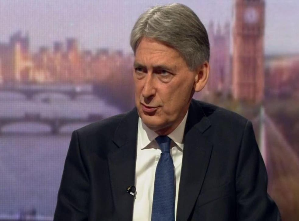 Philip Hammond said a transitional deal to enable a smooth exit from the single market and the customs union was highly desirable