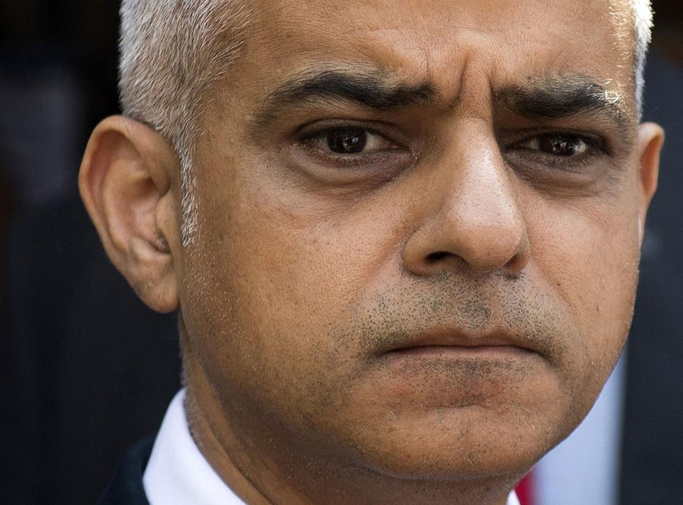 Mr Khan warned social media sites to remove violent content that glorifies knife crime, saying their current policies 'do not go far enough'